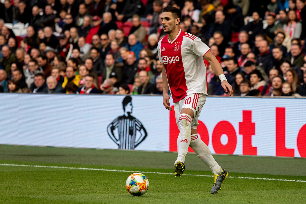 Dusan Tadic of Ajax Amsterdam during the Dutch Eredivisie match at Amsterdam Arena, Amsterdam Picture by Sjoerd Tullenaar/Focus Images Ltd +31655744888 17/02/2019