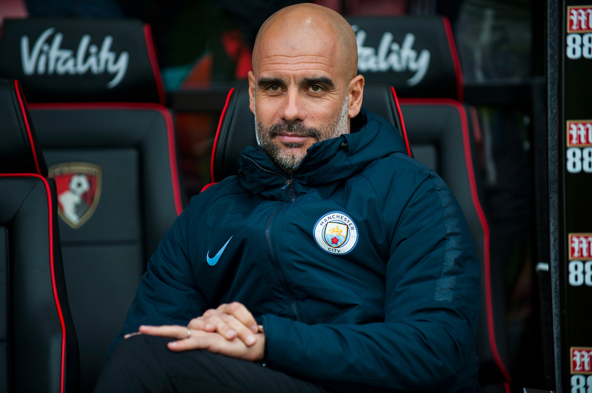 Pep Guardiola Manchester City Focus