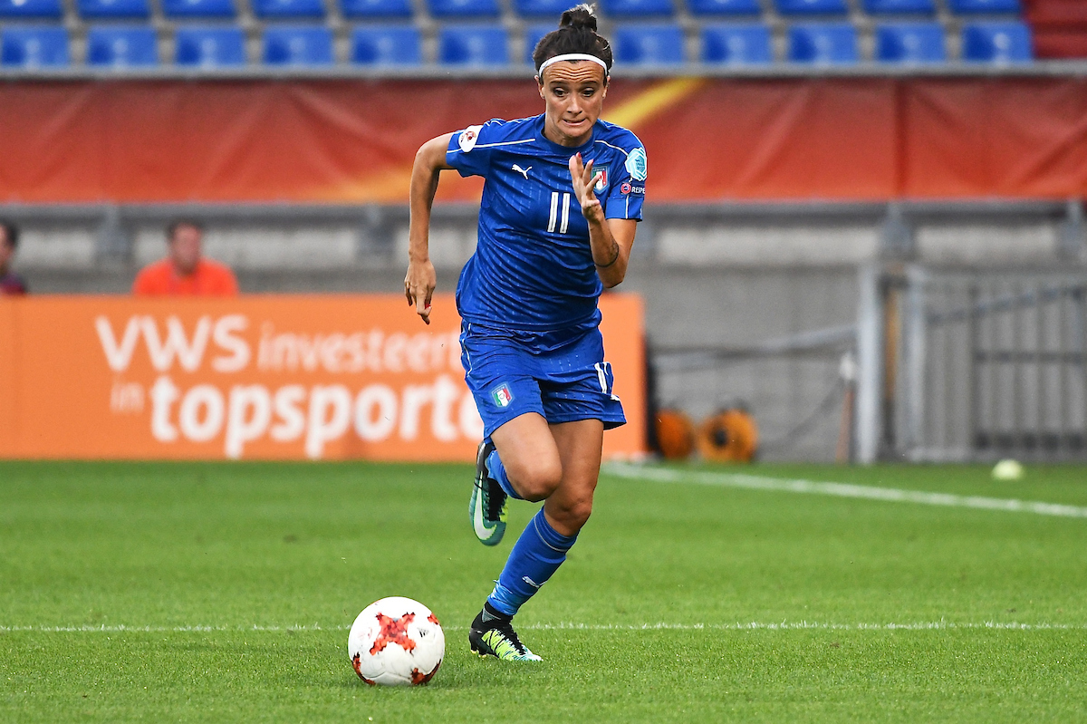Barbara Bonansea of Italy during the UEFA Women's Euros 2017 match at Koning Willem II Stadion, Tilburg Picture by Kristian Kane/Focus Images Ltd +44 7814 482222 21/07/2017