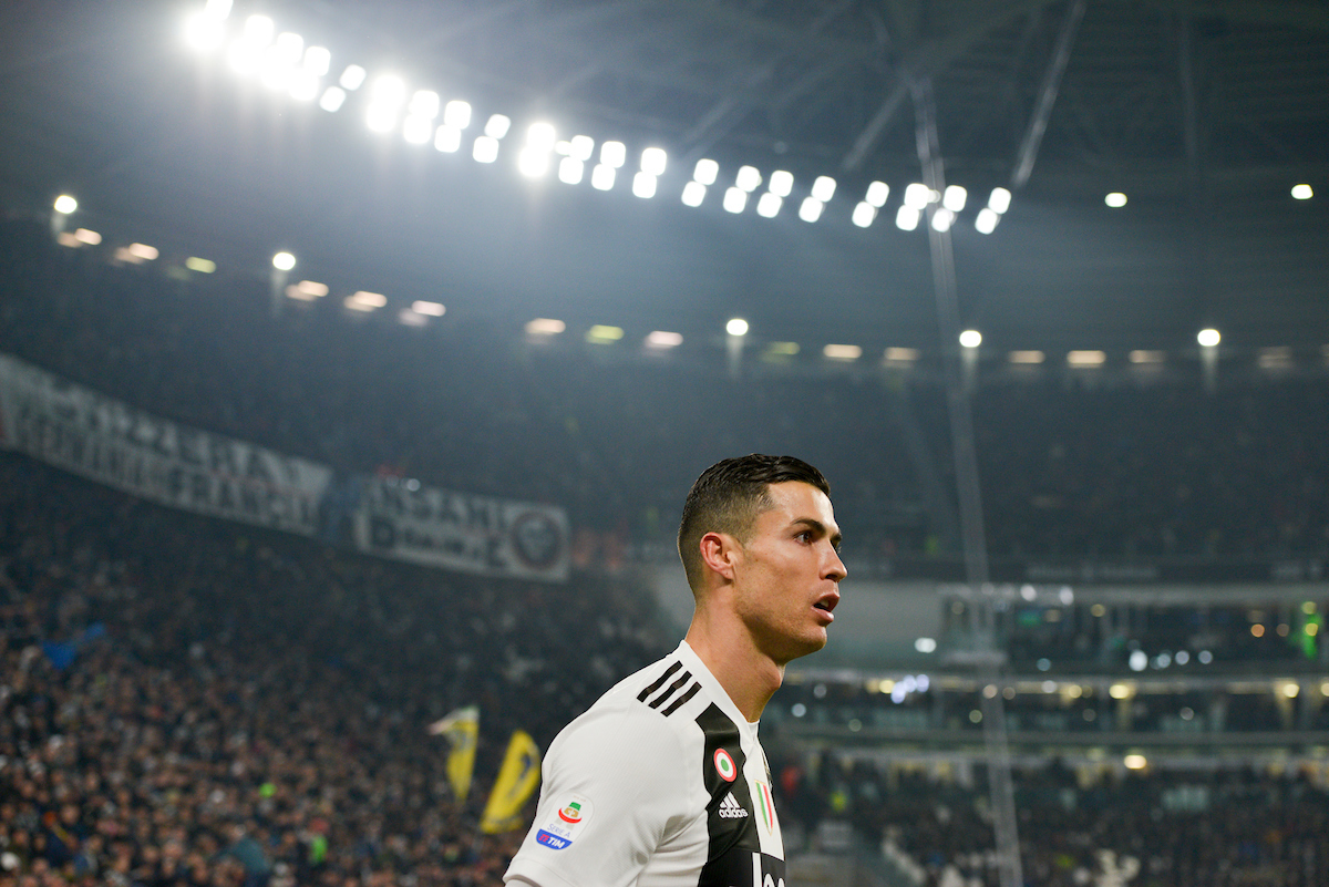 Cristiano Ronaldo of Juventus during the Serie A match at Juventus Stadium, Turin Picture by Antonio Polia/Focus Images Ltd +393473147935 07/12/2018