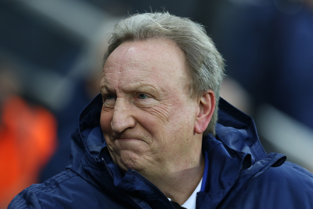 Cardiff City manager Neil Warnock during the Premier League match at St. James's Park, Newcastle Picture by Robert Smith/Focus Images Ltd 07837 882029 19/01/2019