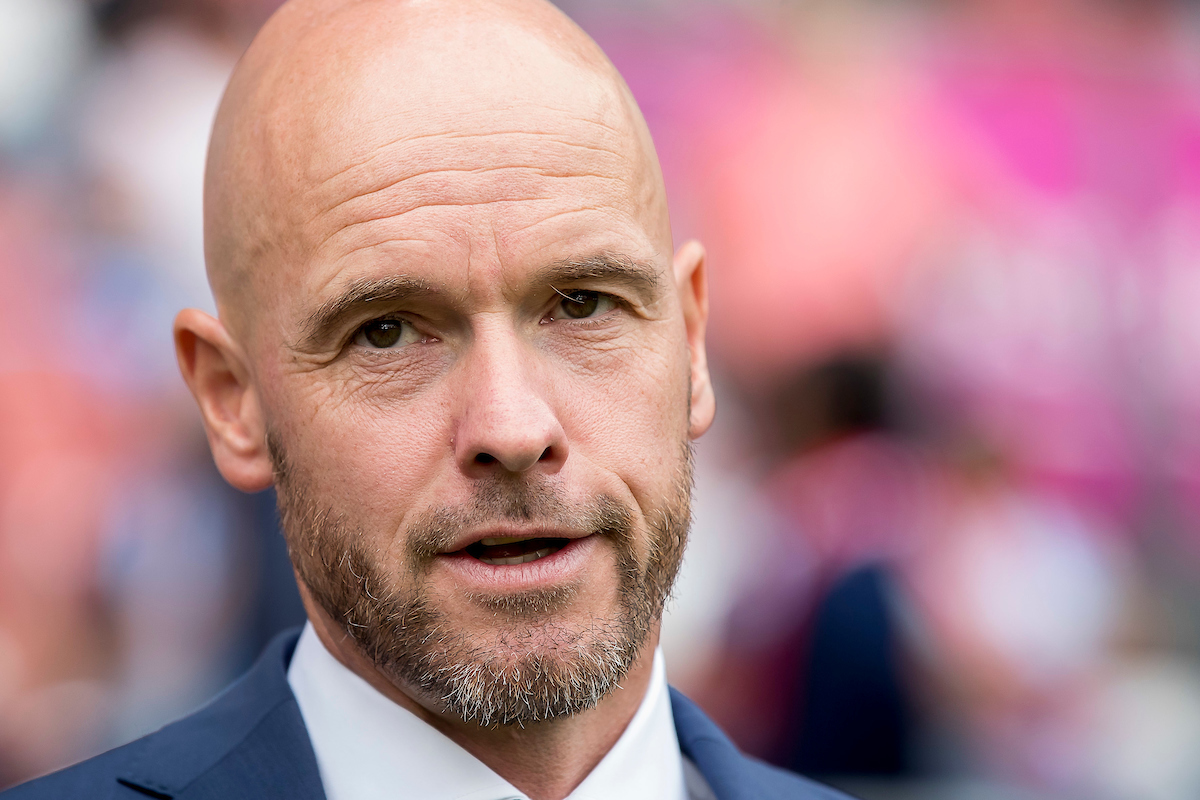 Erik ten Hag, manager of FC Utrecht before the UEFA Europa League Qualifying match at Stadion Galgenwaard, Utrecht Picture by Joep Joseph Leenen/Focus Images Ltd +316 5261929 16/08/2017