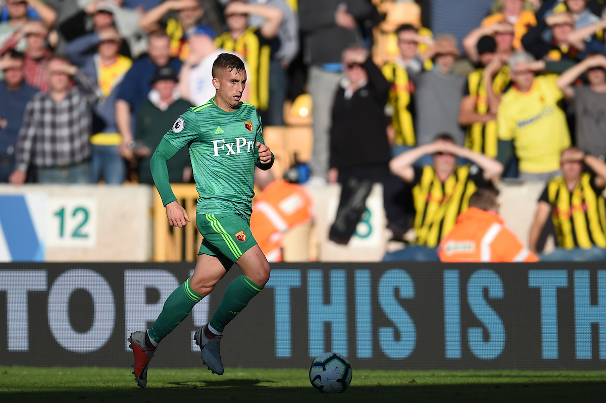 Gerard Deulofeu of Watford during the Premier League match at Molineux, Wolverhampton Picture by Martyn Haworth/Focus Images Ltd 07463250714 20/10/2018
