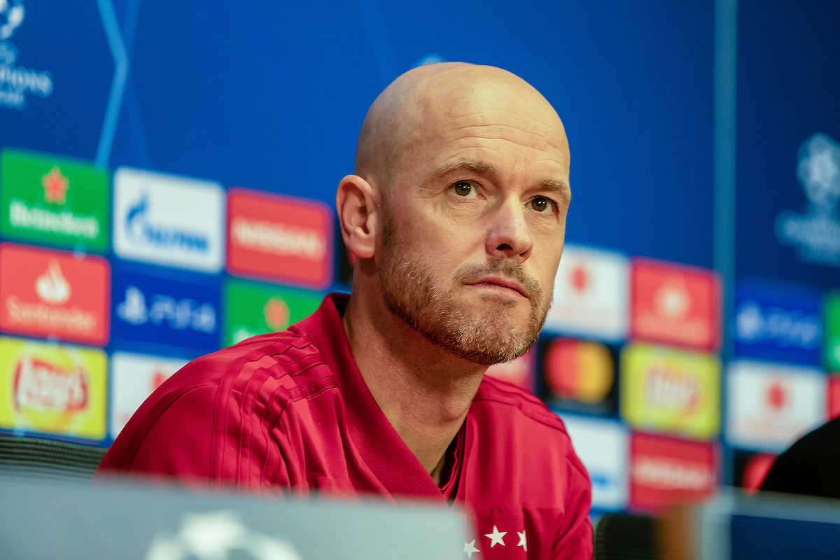 Erik ten Hag trainer/ Coach during the Ajax Amsterdam Training Session at Amsterdam Arena, Amsterdam Picture by Sjoerd Tullenaar/Focus Images Ltd +31655744888 07/05/2019