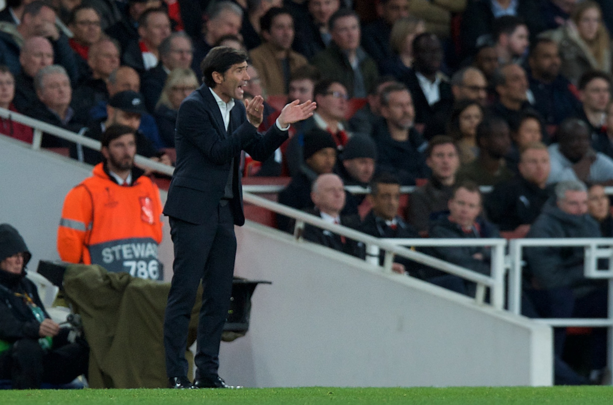 Marcelino Manager of Valencia during the UEFA Europa League Semi-final match at the Emirates Stadium, London Picture by Alan Stanford/Focus Images Ltd +44 7915 056117 02/05/2019