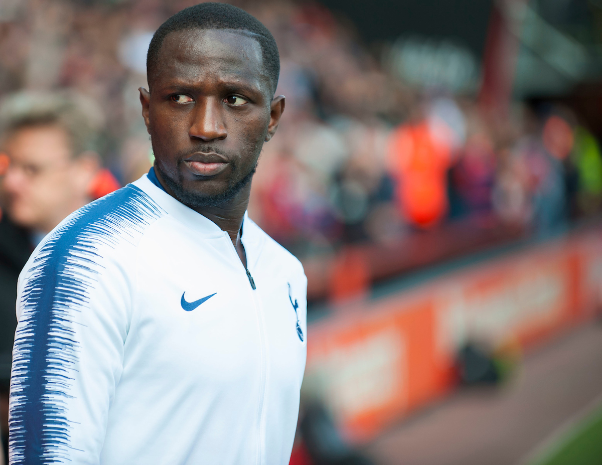 Moussa Sissoko of Tottenham Hotspur during the Premier League match at the Vitality Stadium, Bournemouth Picture by Daniel Murphy/Focus Images Ltd 07432 188161 04/05/2019