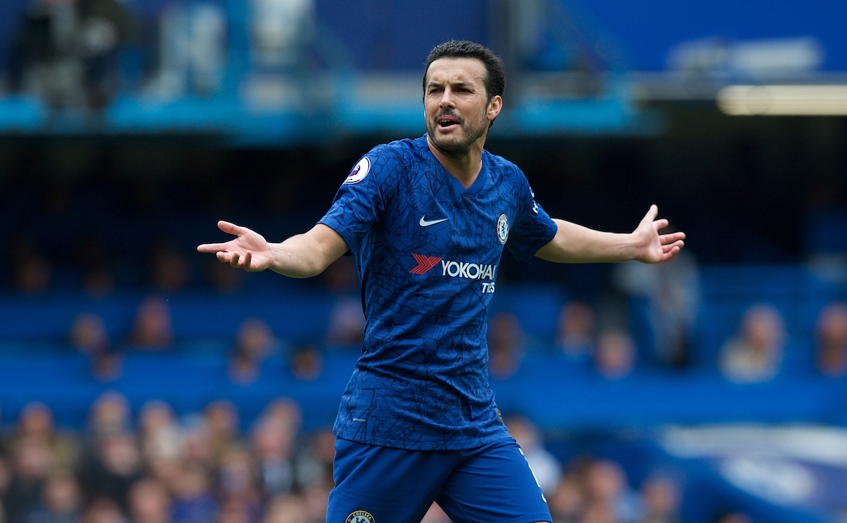 Pedro of Chelsea during the Premier League match at Stamford Bridge, London Picture by Alan Stanford/Focus Images Ltd +44 7915 056117 05/05/2019