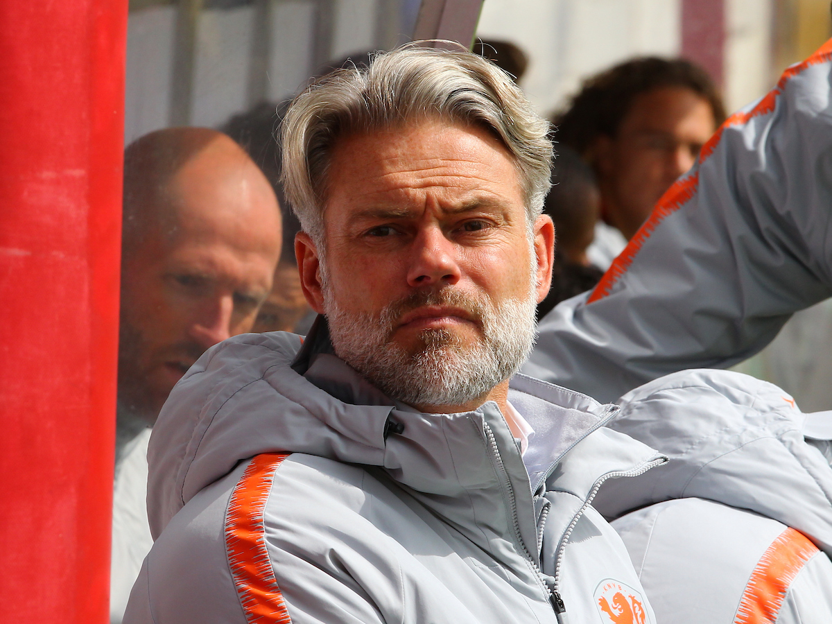 Peter Van Der Veen Manager of Netherlands during the UEFA Euro U17 Championship match at Tolka Park, Drumcondra Picture by Yannis Halas/Focus Images Ltd +353 8725 82019 06/05/2019