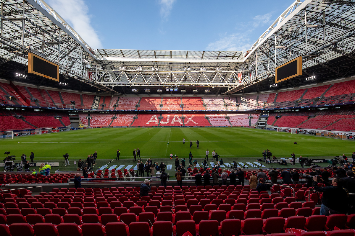 Overview Johan Cruijff Arena during the Tottenham Hotspur Training Session at Amsterdam Arena, Amsterdam Picture by Sjoerd Tullenaar/Focus Images Ltd +31655744888 07/05/2019