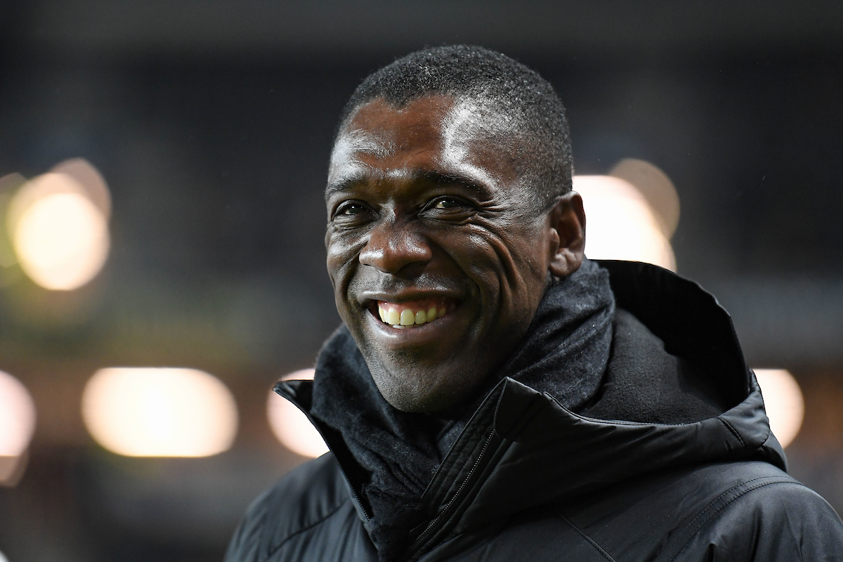 Cameroon Manager Clarence Seedorf during the International Friendly match at Stadium MK, Milton Keynes Picture by Martyn Haworth/Focus Images Ltd 07463250714 20/11/2018