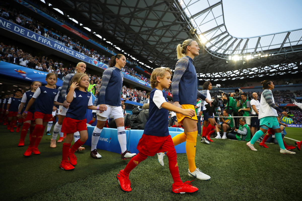 Ingrid Hjelmseth of Norway Women during the 2019 FIFA Women's World Cup match at Allianz Riviera, Nice Picture by Kunjan Malde/Focus Images Ltd +447523653989 12/06/2019