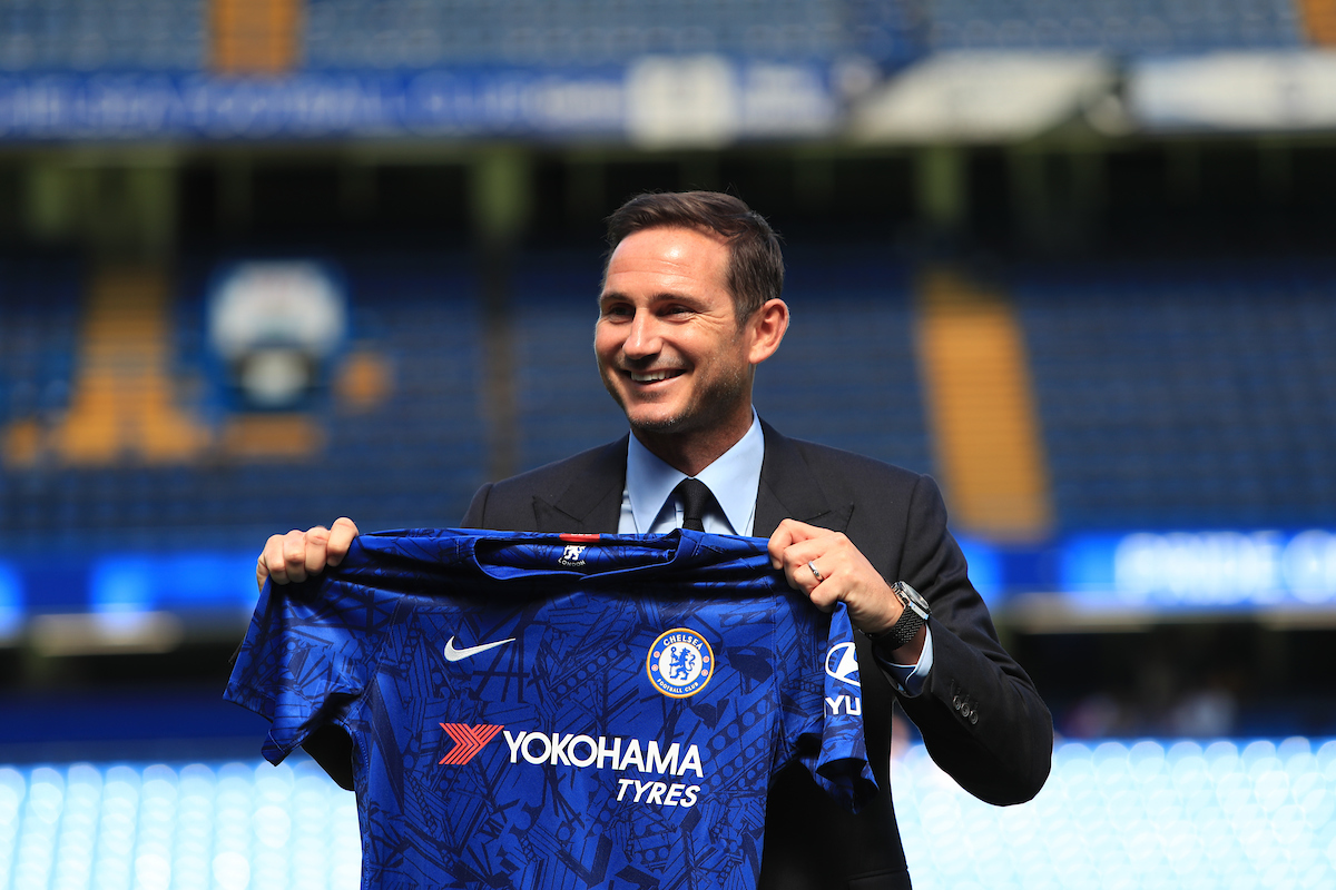Chelsea manager Frank Lampard pictured during his unveiling press conference at Stamford Bridge, London Picture by Romena Fogliati/Focus Images Ltd 07576143919 04/07/2019