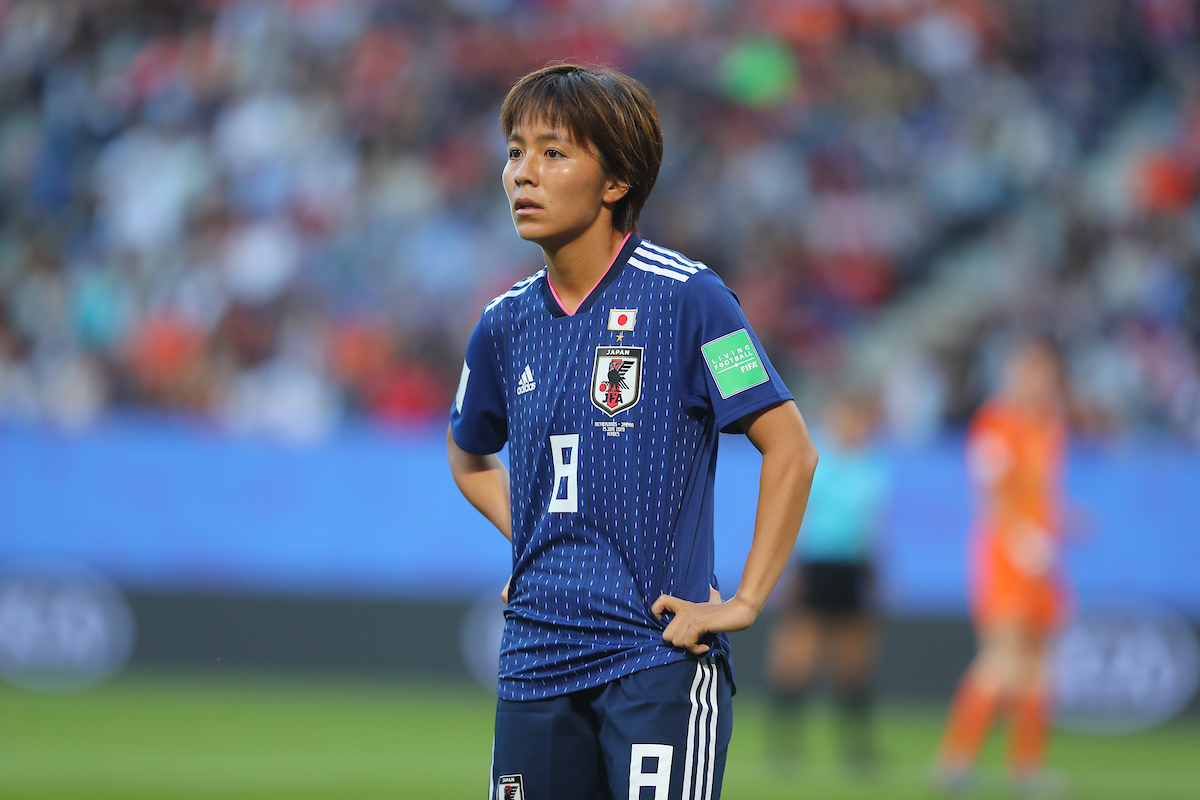 Mana Iwabuchi of Japan Women during the 2019 FIFA Women's World Cup match at Roazhon Park, Rennes Picture by Kunjan Malde/Focus Images Ltd +447523653989 25/06/2019