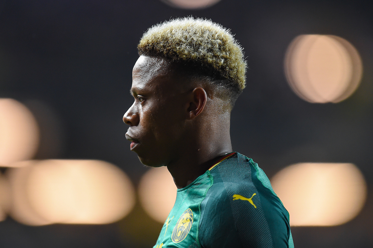 Clinton N'Jie of Cameroon during the International Friendly match at Stadium MK, Milton Keynes Picture by Martyn Haworth/Focus Images Ltd 07463250714 20/11/2018