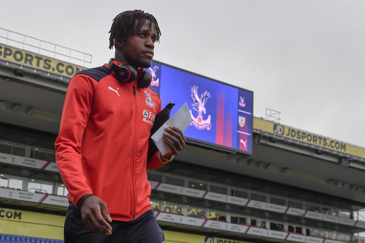 Wilfried Zaha of Crystal Palace arrives at Selhurst Park ahead of the Premier League match at Selhurst Park, London Picture by Martyn Haworth/Focus Images Ltd 07463250714 01/12/2018