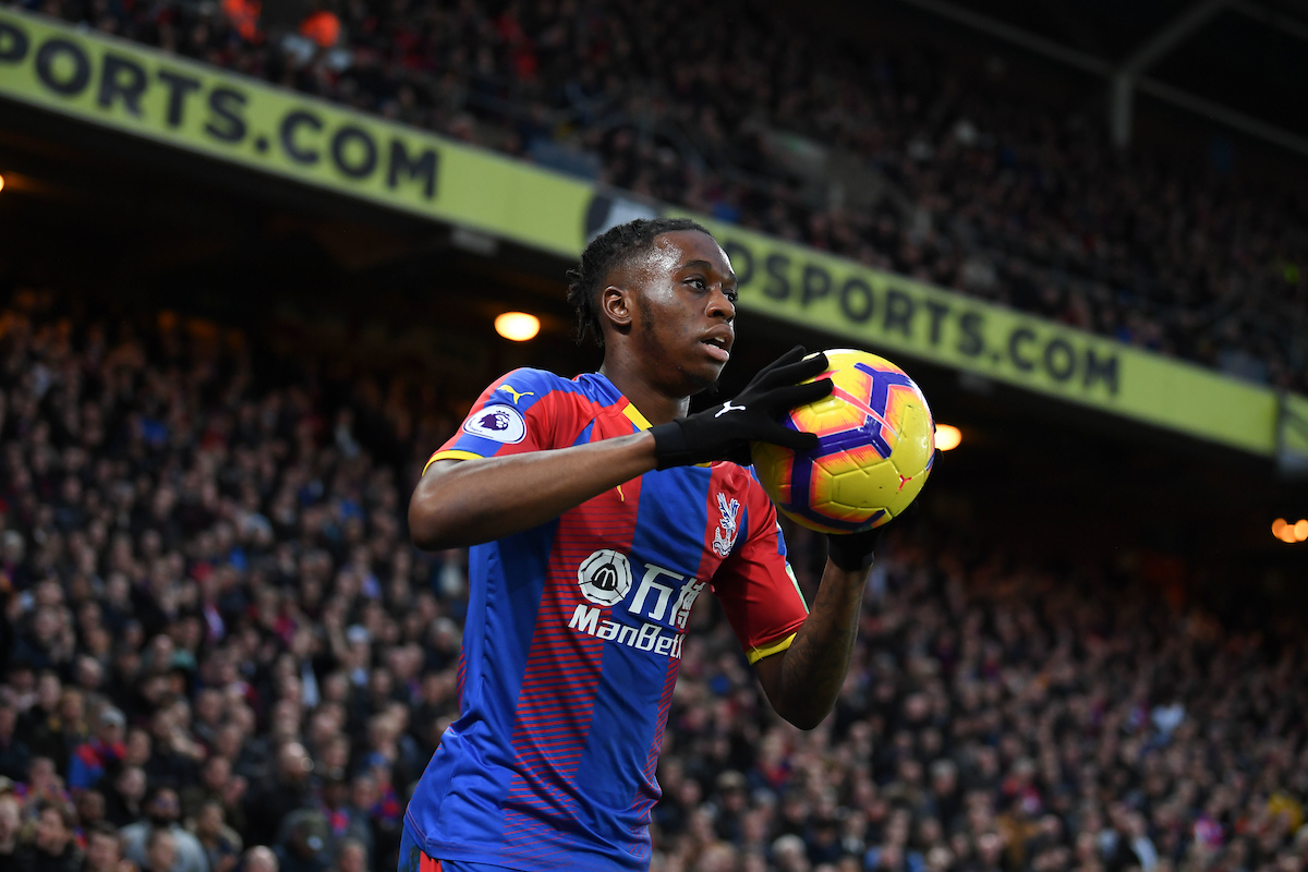 Aaron Wan-Bissaka of Crystal Palace during the Premier League match at Selhurst Park, London Picture by Martyn Haworth/Focus Images Ltd 07463250714 01/12/2018