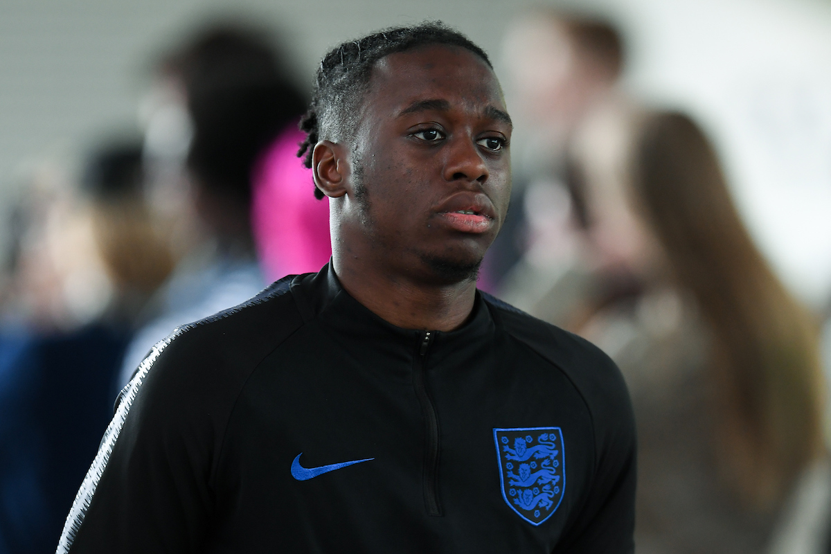 Aaron Wan-Bissaka of England Under 21's at the England Media Day at St Georges Park, Burton upon Trent Picture by Martyn Haworth/Focus Images Ltd 07463250714 28/05/2019