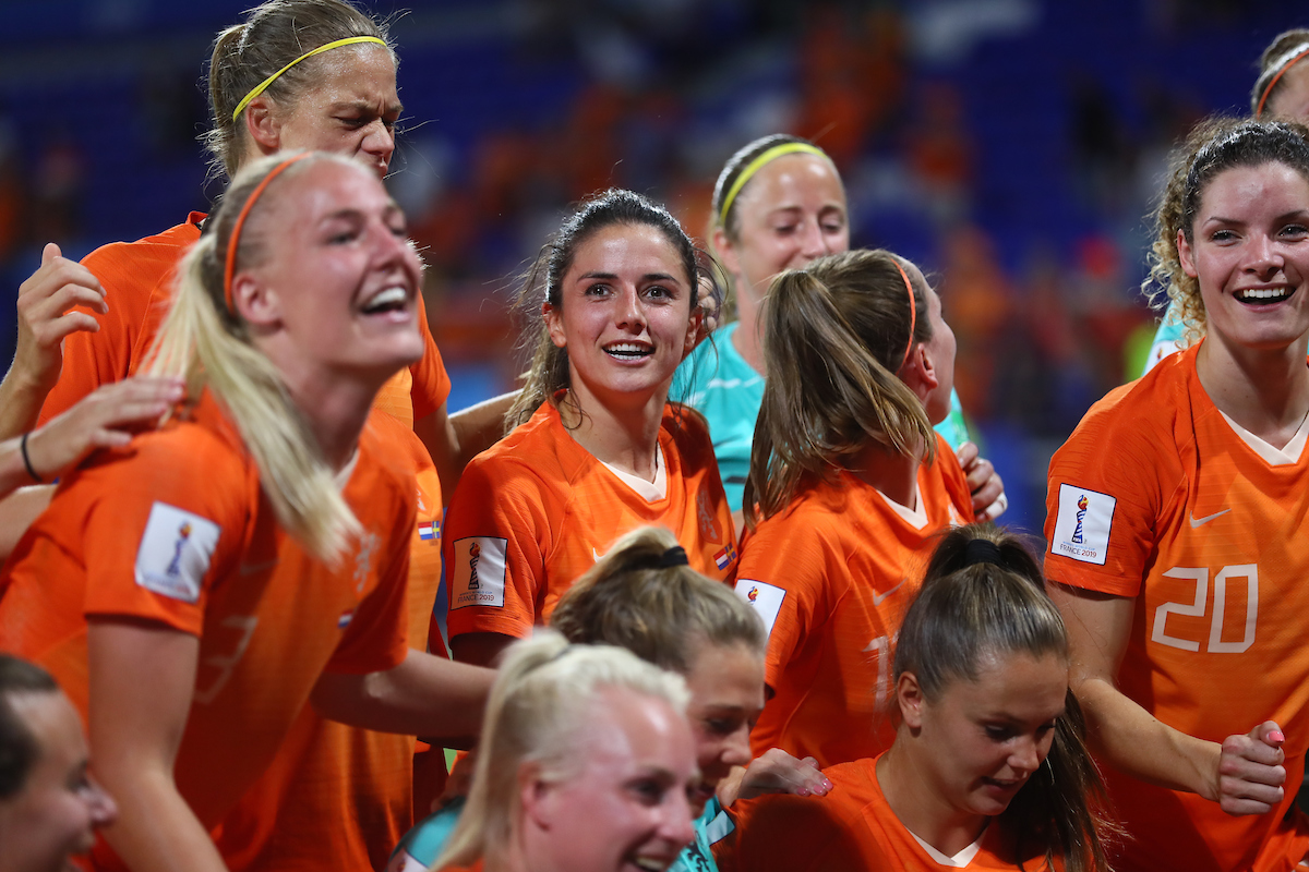 Danielle van de Donk of  Netherlands Women during the 2019 FIFA Women's World Cup match at Stade de Lyons, Lyons Picture by Kunjan Malde/Focus Images Ltd +447523653989 03/07/2019