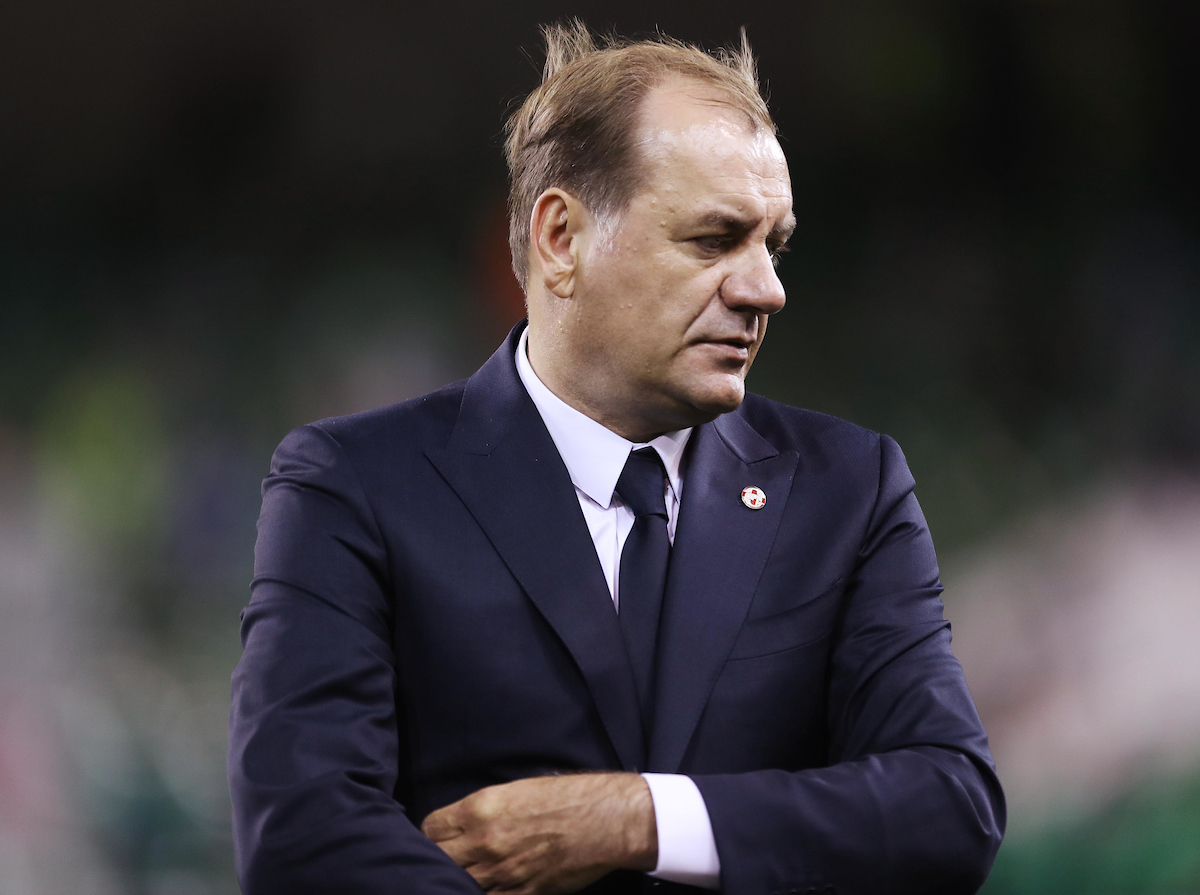 Vladimir Weiss Georgia manager during the 2018 FIFA World Cup Qualifying match at the Aviva Stadium, Dublin Picture by Lorraine O'Sullivan/Focus Images Ltd +353 872341584 06/10/2016