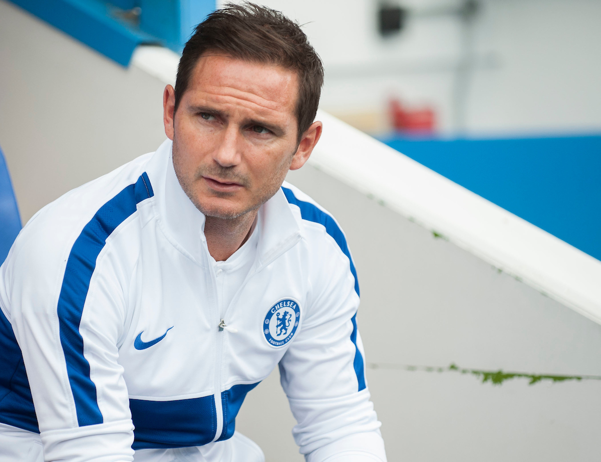 Frank Lampard of Chelsea before the Pre-season friendly match at the Madejski Stadium, Reading Picture by Daniel Murphy/Focus Images Ltd 07432 188161 28/07/2019
