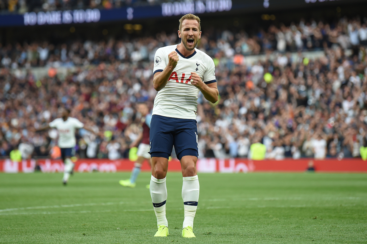 Harry Kane resolvió el partido para los Spurs. Foto: Martyn Haworth/Focus Images Ltd.
