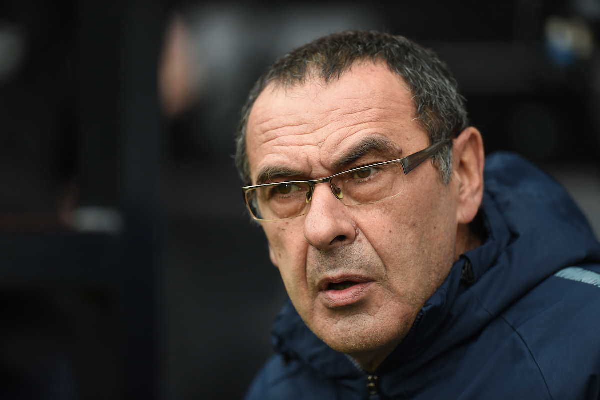 Chelsea Head Coach Maurizio Sarri ahead of the Premier League match at Craven Cottage, London Picture by Martyn Haworth/Focus Images Ltd 07463250714 03/03/2019