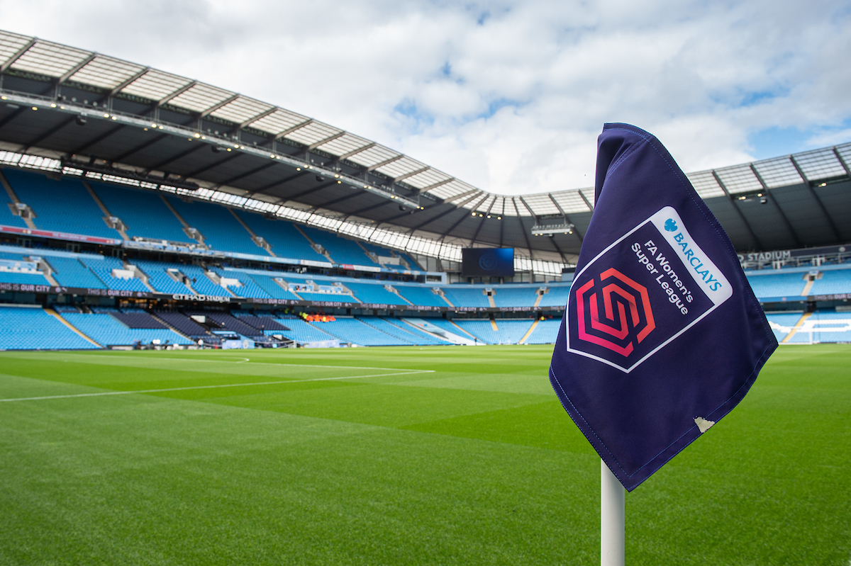 The Etihad Stadium, Manchester ahead of the FA Women's Super League match between Manchester City and Manchester United Picture by Matt Wilkinson/Focus Images Ltd 07814 960751 07/09/2019