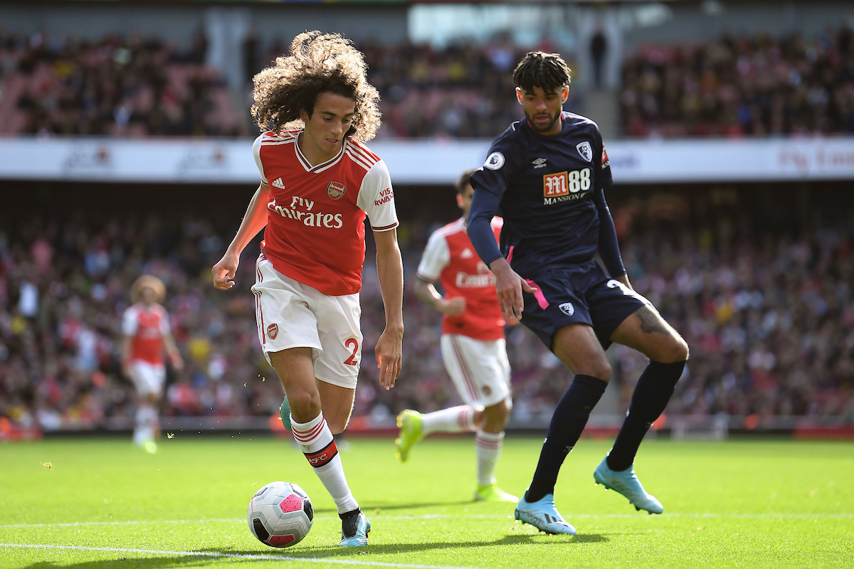 El joven Matteo Guendouzi es indiscutible en el Arsenal. Foto: Martyn Haworth/Focus Images Ltd.