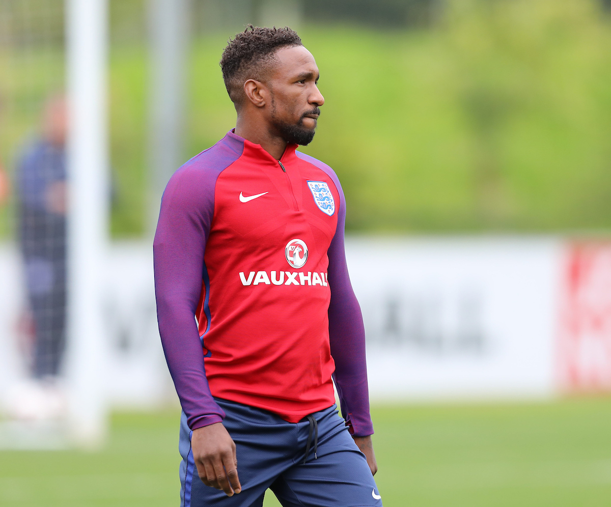Jermain Defoe (AFC Bournemouth) during the England Media Day at St Georges Park, Burton upon Trent Picture by James Wilson/Focus Images Ltd 07522 978714 29/08/2017