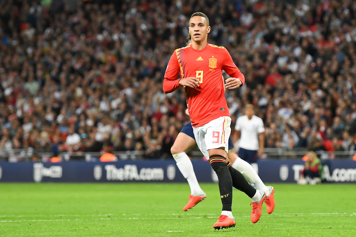 Rodrigo of Spain during the UEFA Nations League match at Wembley Stadium, London Picture by Martyn Haworth/Focus Images Ltd 07463250714 08/09/2018