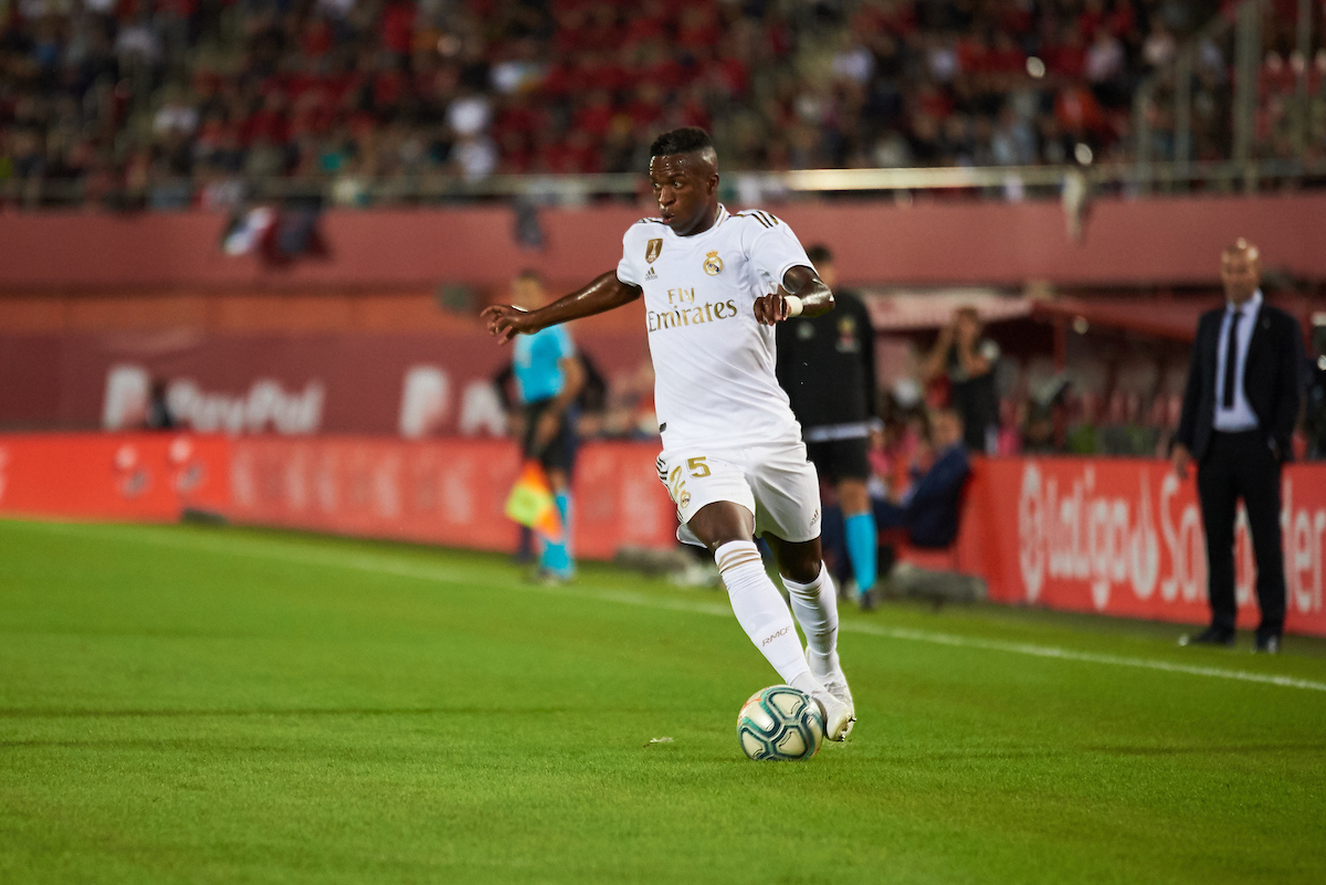 Vinicius of Real Madrid during the La Liga match at Iberostar Stadium, Palma Picture by Cristian Trujillo/Focus Images Ltd +34 64958 5571 19/10/2019