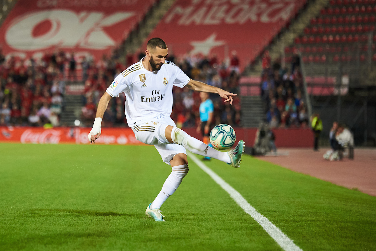 Karim Benzema of Real Madrid during the La Liga match at Iberostar Stadium, Palma Picture by Cristian Trujillo/Focus Images Ltd +34 64958 5571 19/10/2019