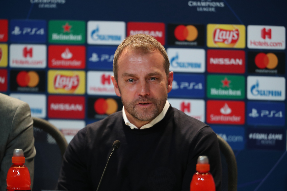 Hans-Dieter Flick Manager of Bayern Munich at the press conference of the UEFA Champions League match at Allianz Arena, Munich Picture by Yannis Halas/Focus Images Ltd +353 8725 82019 11/12/2019