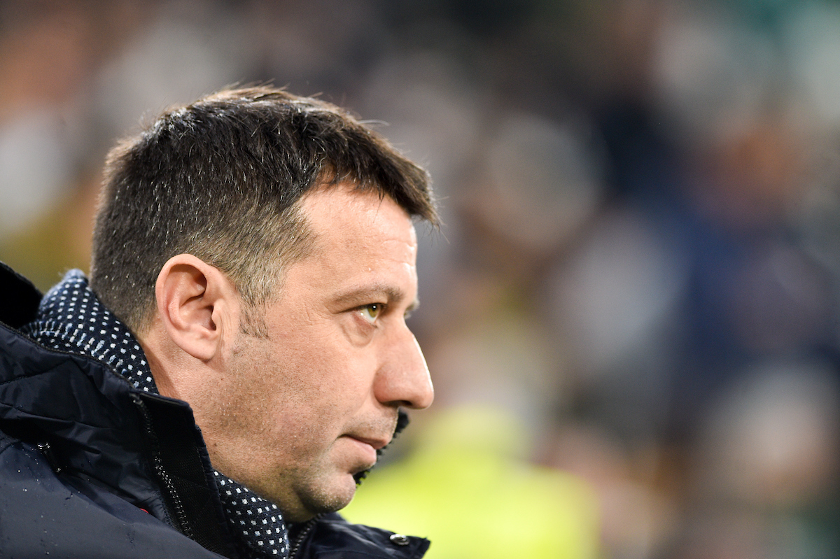 Roberto D'Aversa head coach of Parma Calcio 1913 during the Serie A match at Juventus Stadium, Turin Picture by Antonio Polia/Focus Images Ltd +393473147935 02/02/2019