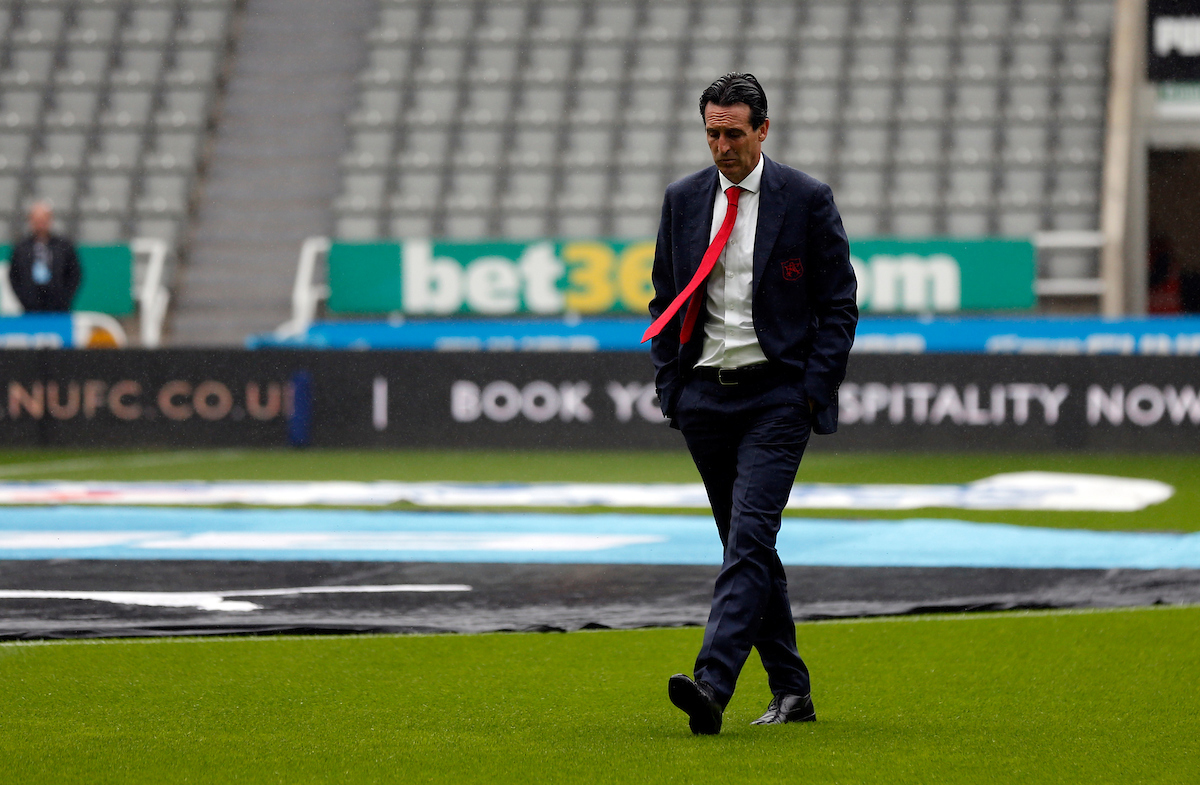 Arsenal manager Unai Emery prior to the Premier League match at St. James's Park, Newcastle Picture by Simon Moore/Focus Images Ltd 07807 671782 11/08/2019