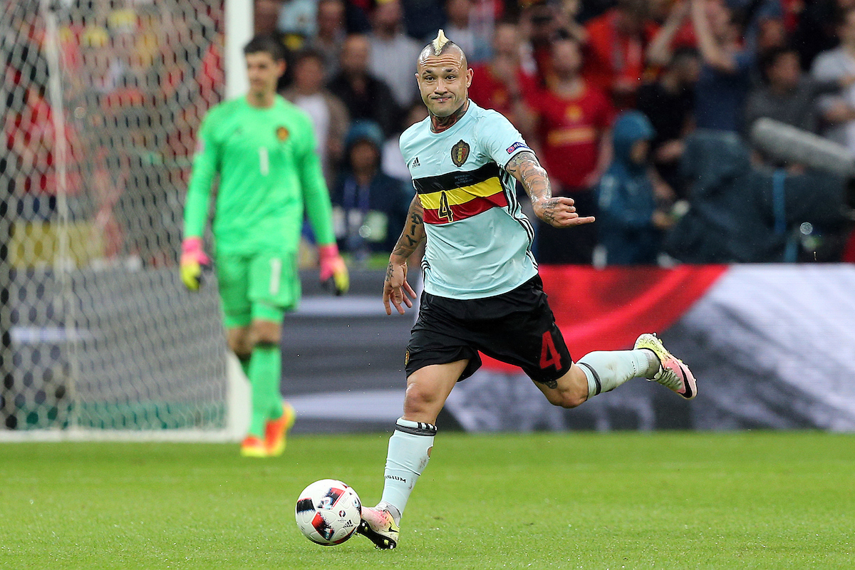 Radja Nainggolan of Belgium in action during the UEFA Euro 2016 quarter final match at Stade Pierre-Mauroy, Lille Picture by Paul Chesterton/Focus Images Ltd +44 7904 640267 01/07/2016