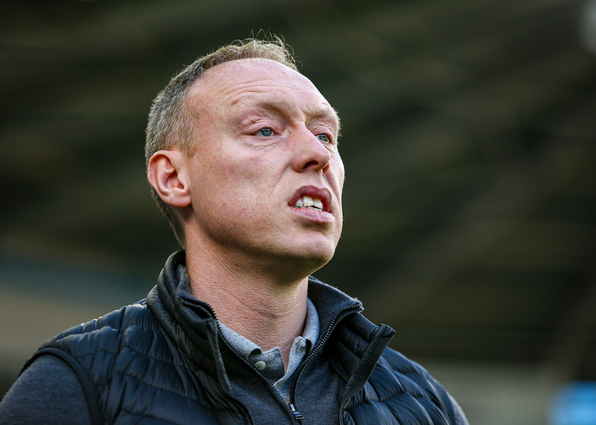 Swansea City manager Steve Cooper on the touchline before kick off at the Sky Bet Championship match at the Cardiff City Stadium, Cardiff Picture by Matthew Lofthouse/Focus Images Ltd 07703 390510 12/01/2020