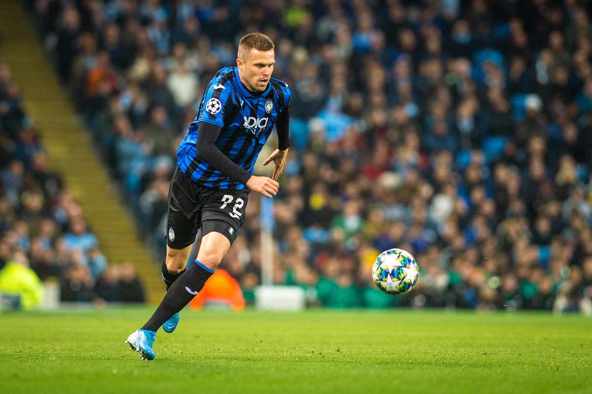 Josip Ilicic of Atalanta BC bears down on goal during the UEFA Champions League match at the Etihad Stadium, Manchester Picture by Matt Wilkinson/Focus Images Ltd 07814 960751 22/10/2019