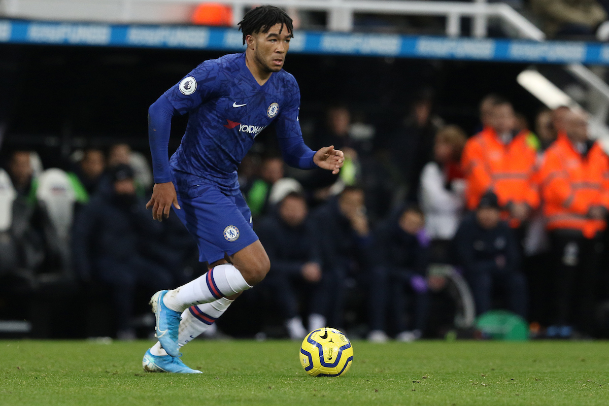 Reece James of Chelsea  during the Premier League match at St. James's Park, Newcastle Picture by Robert Smith/Focus Images Ltd 07837 882029 18/01/2020