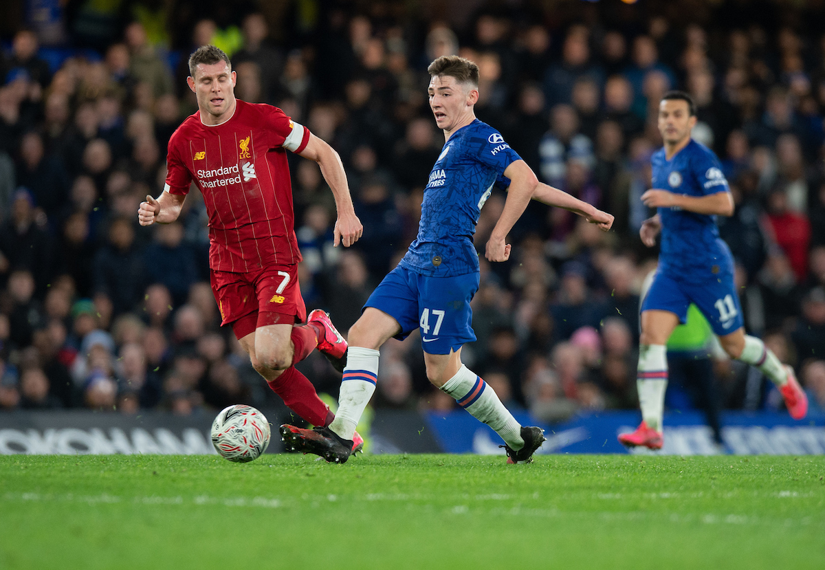 Billy Gilmour impresionó con y sin balón. Foto: Alan Stanford/Focus Images Ltd.