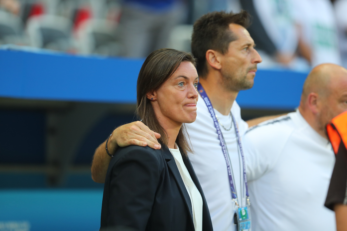 Corinne Diacre, Manager of France Women during the 2019 FIFA Women's World Cup match at Allianz Riviera, Nice Picture by Kunjan Malde/Focus Images Ltd +447523653989 12/06/2019