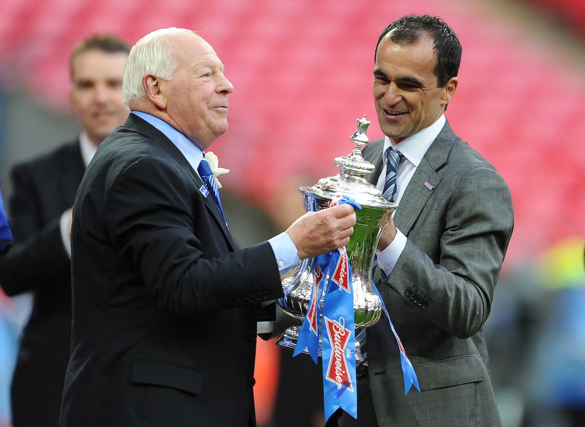 Dave Whelan fue el dirigente del Wigan Athletic hasta 2015. Foto: Andrew Timms/Focus Images Ltd