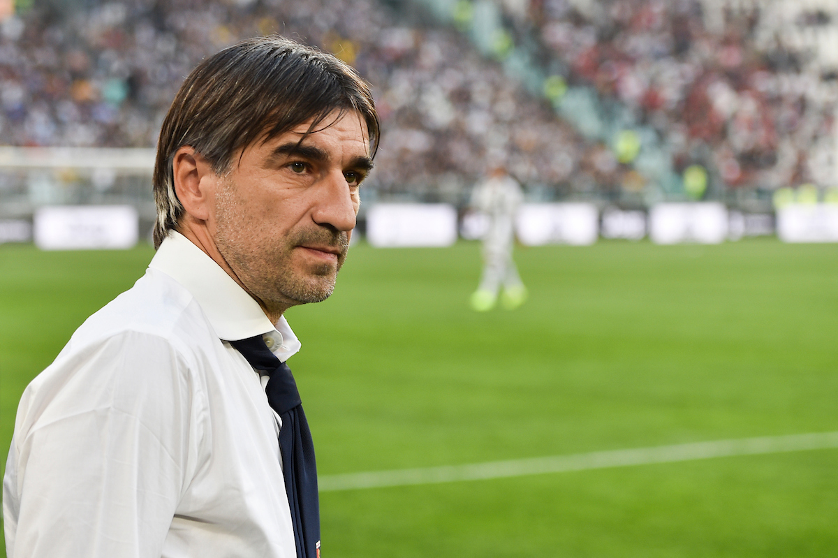 Ivan Juric, head coach of Genoa C.F.C. during the Serie A match at Juventus Stadium, Turin Picture by Antonio Polia/Focus Images Ltd +393473147935 20/10/2018