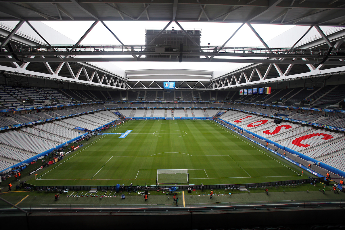 General views of the stadium before the UEFA Euro 2016 quarter final match at Stade Pierre-Mauroy, Lille Picture by Paul Chesterton/Focus Images Ltd +44 7904 640267 01/07/2016