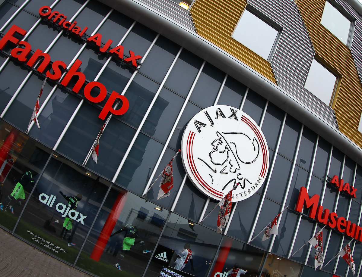 Picture by John  Rainford/Focus Images Ltd +44 7506 538356.24/10/2012.General view of the Fanshop and Museum at the Amsterdam Arena, Amsterdam.