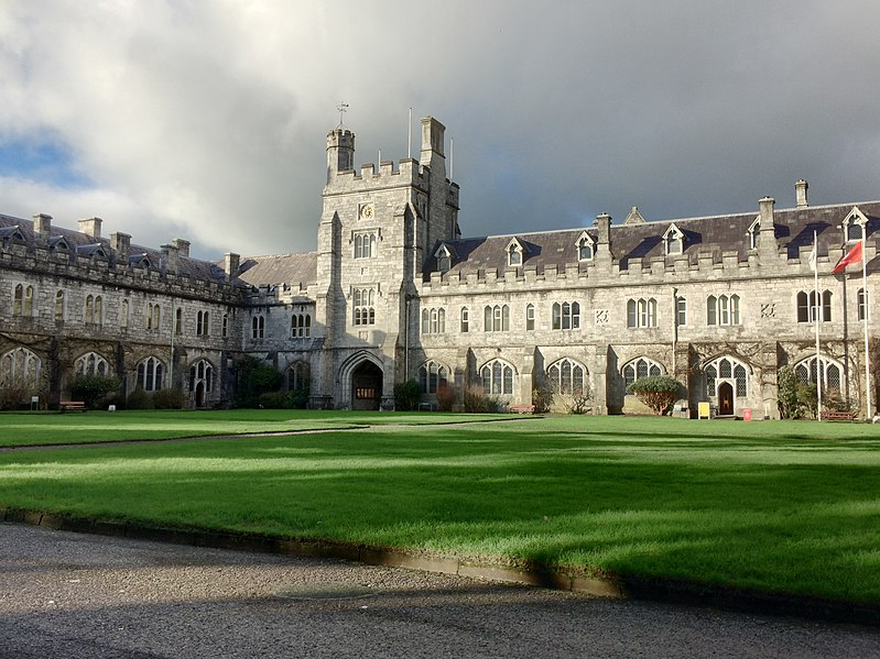University College, en Cork. Foto: Michael O'Sheil bajo licencia Creative Commons 4.0