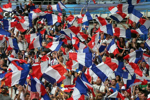 The French fans before the International Friendly match at Stade de France, Paris Picture by Paul Chesterton/Focus Images Ltd +44 7904 640267 13/06/2017