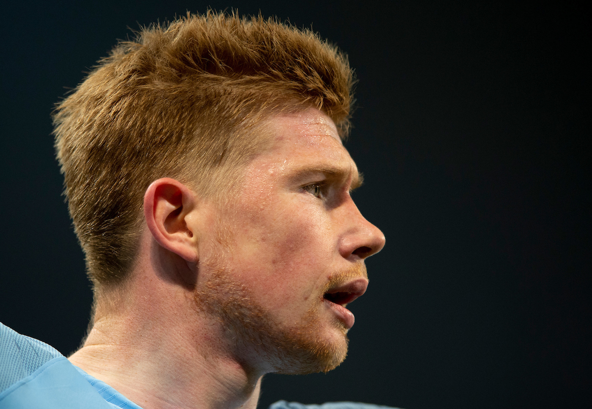 Kevin De Bruyne of Manchester City during the second leg of the UEFA Champions League quarter-final match at the Etihad Stadium, Manchester Picture by Russell Hart/Focus Images Ltd 07791 688 420 17/04/2019