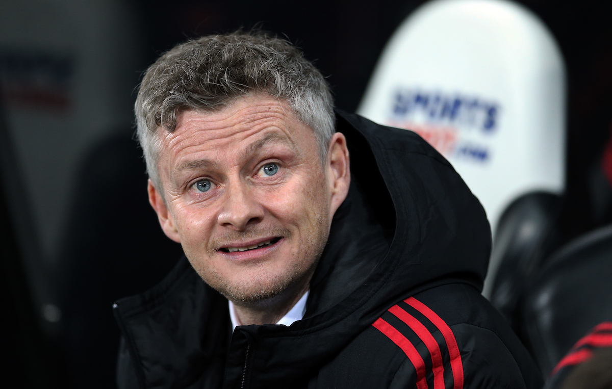 Manchester United caretaker manager Ole Gunnar Solskjaer prior to the Premier League match at St. James's Park, Newcastle Picture by Simon Moore/Focus Images Ltd 07807 671782 02/01/2019