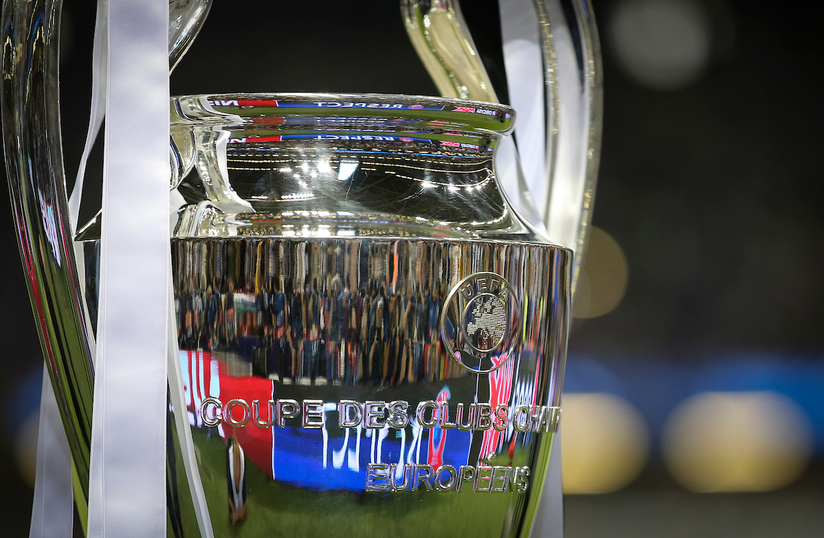 The UEFA Champions League trophy before the UEFA Champions League Final at the Principality Stadium, Cardiff Picture by Mike Griffiths/Focus Images Ltd +44 7766 223933 03/06/2017
